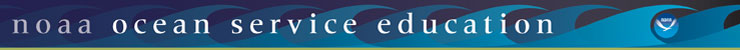 National Ocean Service Education banner logo