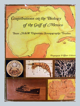 Cover of book Contributions on the Biology of the Gulf of Mexico