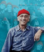 Jacques Cousteau on the cover of Sanctuary Watch