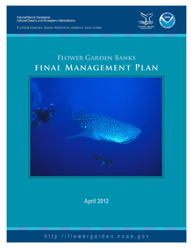 Front cover of final management plan.