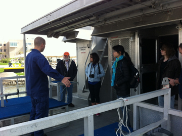 Group visit on RV MANTA